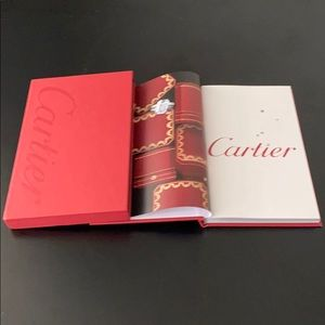 Cartier Collection Book with Book Cover Box Set